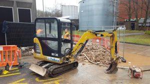 Token Engineering : Water Leak detection & excavation prior to repair & reinstatement.